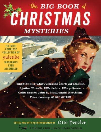 The Big Book of Christmas Mysteries Vintage Crime Black Lizard product image