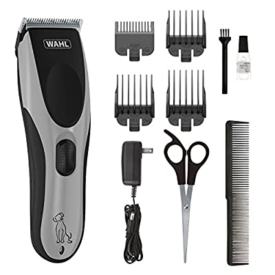 Wahl Easy Pro for Pets, Rechargeable Dog Grooming Kit – Quiet, Low Noise, Heavy-Duty Electric Dog Clippers for Dogs & Cats with Thick to Heavy Coats - Model 9549 by Wahl
