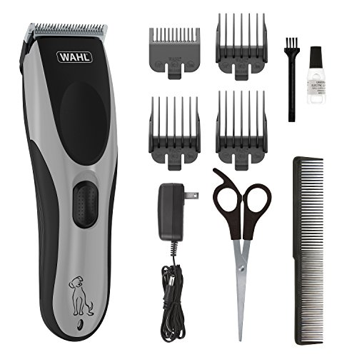 Wahl Easy Pro for Pets, Rechargeable Dog Grooming Kit – Quiet, Low Noise, Heavy-Duty Electric Dog Clippers for Dogs & Cats with Thick to Heavy Coats - Model 9549 (09549)