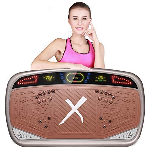 Big seller Vibrationsplatte Vibrierende und oszillierende Plattformen, abnehmen Fettverbrennung Sportgeräte Ofenrohr dünne Taille dünnen Bauch (Farbe : Messing)