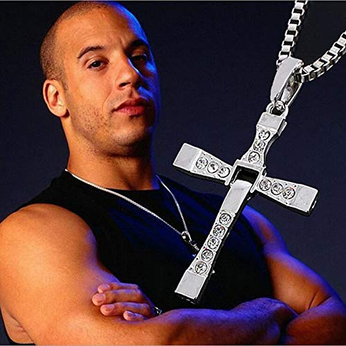 Greneric Male Necklaces & Pendants Movie Jewelry Cross Pendant Necklace