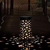 Solarleuchte Garten GolWof 1 Stücke Solarleuchten für Außen LED Solar Gartenleuchte Solarlampen Außen Solar Gartendeko Wasserdicht Wegbeleuchtung Außenleuchte für Veranda Pathway und Hof Weihnachten