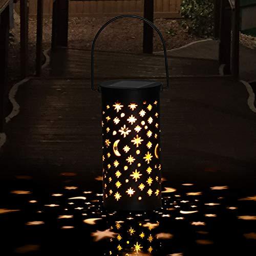 Lámparas Solares para Jardín Golwof 1 Pieza Luz Solar Exterior Jardin Luces Solares Jardin Exterior Decorativas Farolillos Solares Exterior Iluminación de Caminos para Camino Patio Césped Pasillo
