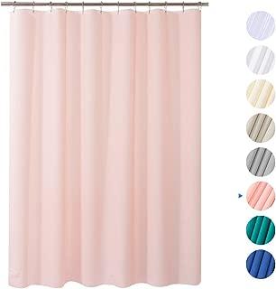 pastel green shower curtain