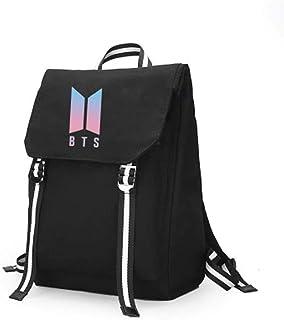 Flyself Kpop BTS Bangtan Boys Anti-Theft Water Resistant Travel Casual Backpack Daypack Laptop Bags Teen Boys School Bags Kids Handbag