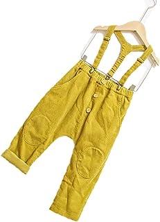 HOSD Nueva Ropa para niños Pantalones para niños Pantalones de Pana de algodón Pantalones de harén del Tesoro para Hombres...