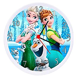 Quartz Frozen Movie Wall Clock