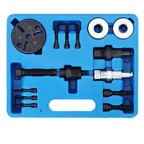 Kit Extractor Embrague Coche, Extractor De Embrague Aire Coche,fácil De Usar, Resistente a La Oxidación Y Duradero, Para Instalar Y Desmontar Compresor De Aire Acondicionado De Automóvil
