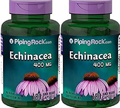 2 Echinacea, 400 mg, 100 Capsule