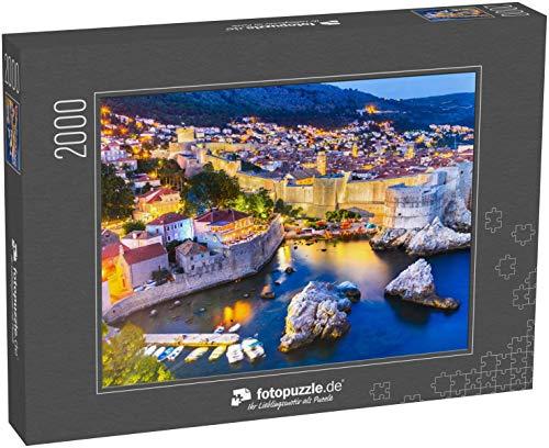 Puzzle 2000 Teile Dubrovnik, Kroatien - Klassische Puzzle mit edler Motiv-Schachtel, Fotopuzzle-Kollektion 'Kroatien'