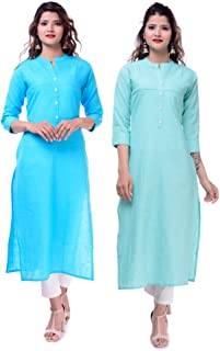 Blue lemon Cottonsulb Kurta