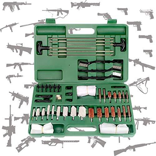 WDSZXH Waffenreinigungsset Waffen Reinigungsset Waffenpflege Pistole Gewehr Waffenpflege für Flinte Gewehr Pistole Luftpistole universal (Color : Green)