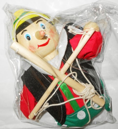 The New Pinocchio Marionette By The Original Toy Company by The Original Toy Company (English Manual)