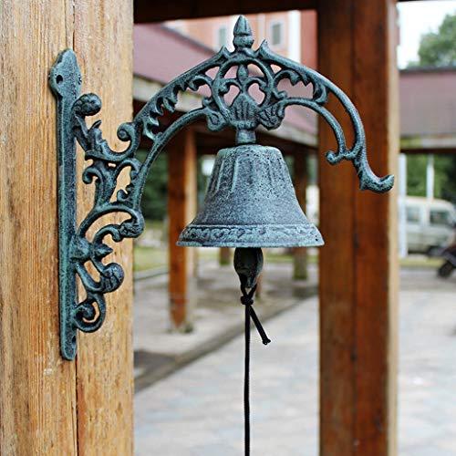 CKH Europese klassieke stijl retro ijzer bel gietijzeren deur Bell Villa voorzijde bel muur opknoping