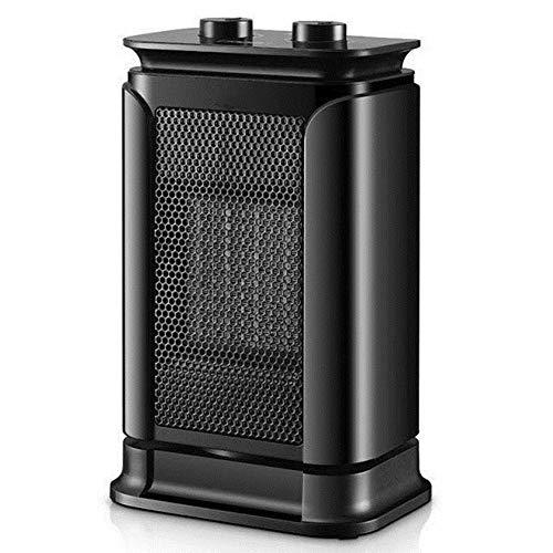WYW Calefactor,1500W Mini Compacto,con 3 Niveles de Potencia,silencioso Termostato Ajustable,Termostato Regulable 3 Niveles,Calentador de Ambiente Apto para Bajo Consumo Energético en Casa