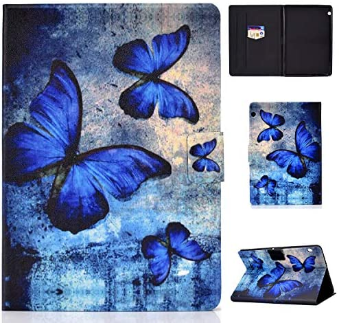Hious Case for Huawei MediaPad T3 10 (9.6-Inch) PU Leather Business Folio Cover Standing Protective Cover Multi-angle Pocket