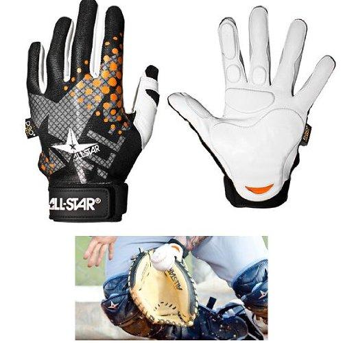 Adult Medium Catcher's & Fielder's Padded Inner-Glove (Left Hand)