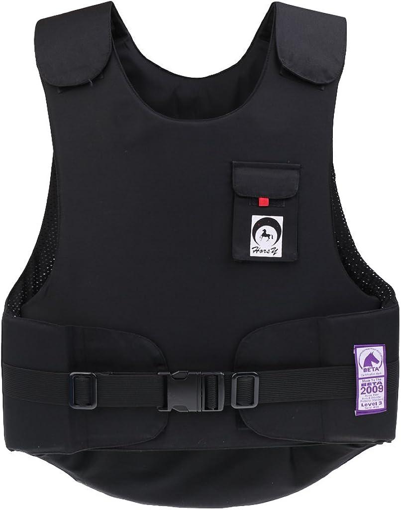 MonkeyJack Equestrian Flexible Body Protector Horse Riding Vest BETA 2009 Level 3