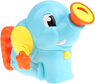 HOMYL Plastic Cartoon Elephant Bath Shower Toy for Kids Baby, Squirt Water Toy for Bathing Time Fun