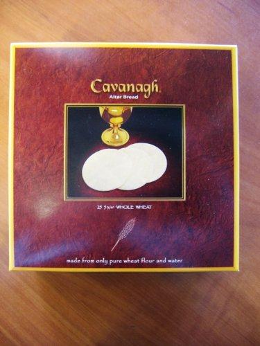 Cavanagh Extra Large Altar Bread - 5 3/4' Whole Wheat - 25/Box