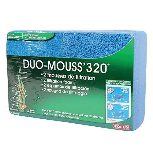 Zolux Duo Mousse pour Aquarium 320 cm