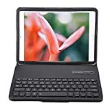Tablet Case with Bluetooth Keyboard and Stand for Samsung Galaxy Tab S2, Tab S2 T810, Tab S2 T815, Tab A 9.7 T550(Black)
