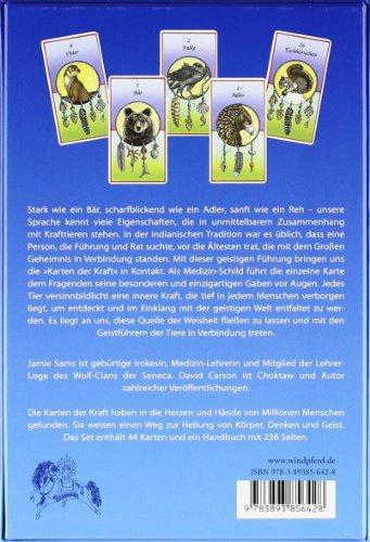 Karten der Kraft: Buch + 44 Tierkarten – Eine schamanische Einweihung in die »Medizin« der Krafttiere - 2