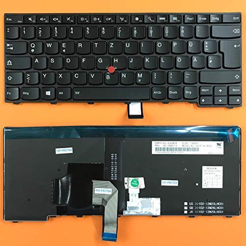 kompatibel fur Lenovo Thinkpad T400s T460 Tastatur Farbe Schwarz mit Beleuchtung Deutsches Tastaturlayout