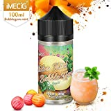 IMECIG 100 ml Vape Liquide Melon Glace Bubblegum Premium Jus Vape 70/30 E liquide...