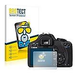 BROTECT Protector Pantalla Anti-Reflejos Compatible con Canon EOS 450D (2 Unidades) Pelicula Mate Anti-Huellas