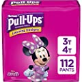 Pull-Ups Learning Designs Potty Training Pants for Girls, Size 3T-4T (32-40 Pound), 112 Count, One Month Supply (Packaging May Vary)