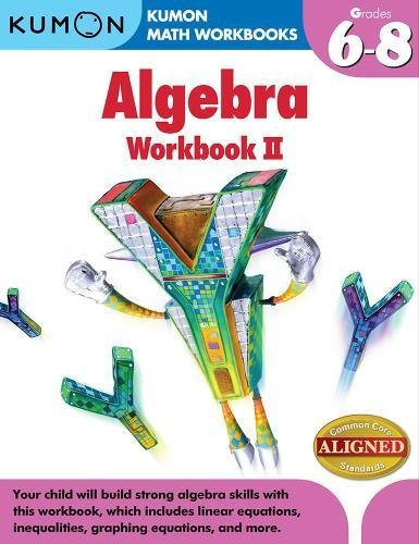 Kumon Algebra Workbook II (Kumon Math Workbooks)