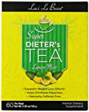Laci Le Beau Super Dieter's Tea, Lemon Mint, 120 Count