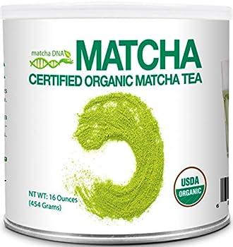 MatchaDNA 1lb Certified Organic Matcha Green Tea Powder