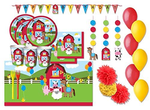 Creative Converting Kit n 54 f Fattoria Coordinato Compleanno Bambini
