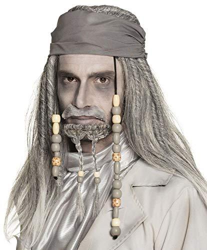 Boland 86196 pruik Geister Pirat Deluxe, grijs