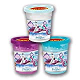 Craze 55190 – Magic Sand Disney Frozen Refill Can, 150 g di Sabbia Glitterata, Colori Assortiti