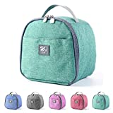 Lunch Bags for Women, KEAIDUO Insulated Small Size Mini Lunch Box Cooler Bag for Work, Office, School (Green)