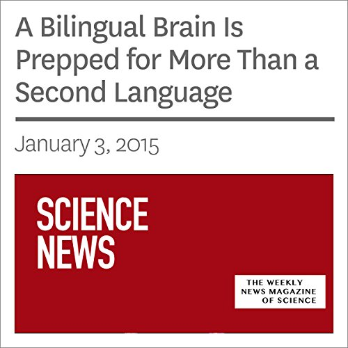 A Bilingual Brain Is Prepped for More Than a Second Language audiobook cover art