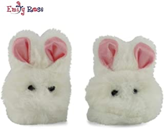 Emily Rose 18 Inch Doll Clothes/Clothing Easter Bunny Slippers Fits American Girl Dolls