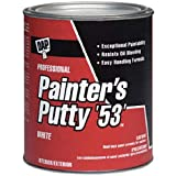 DAP 7079812240 Painters Putty Hp Raw Building Material, 1/2 Pint, White