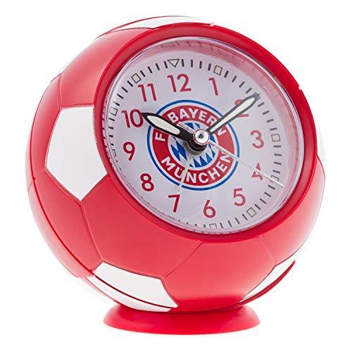 FC Bayern München Wecker im Fußball-Look FCB Uhr