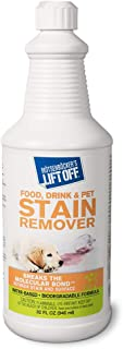 Motsenbocker's Lift Off 40503 Food, Drink, and Pet Stain Remover 32-Ounce Bottle-Pack of 1, Fluid