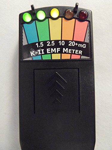 KII EMF Meter Deluxe Black - Paranormal Research Meter