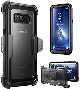i-Blason Armorbox Series Case for Galaxy S8 [Full Body] [Heavy Duty] Shock Reduction / Bumper Case Without Screen Protector for Samsung Galaxy S8 2017 Release  Black
