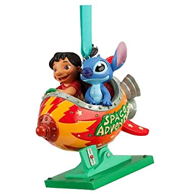 Disney Store Lilo and Stitch Space Adventure Sketchbook Ornament Figurine