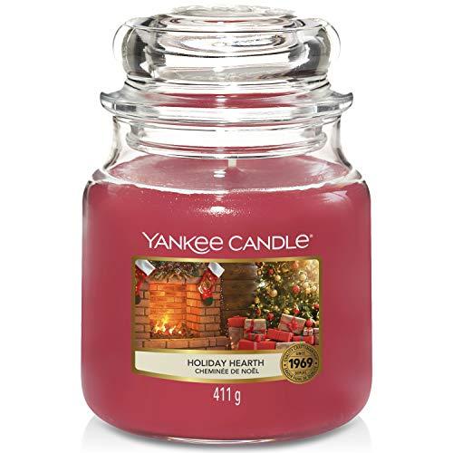 Yankee Candle candela profumata in giara media | Focolare delle Vacanze | durata: fino a 75 ore