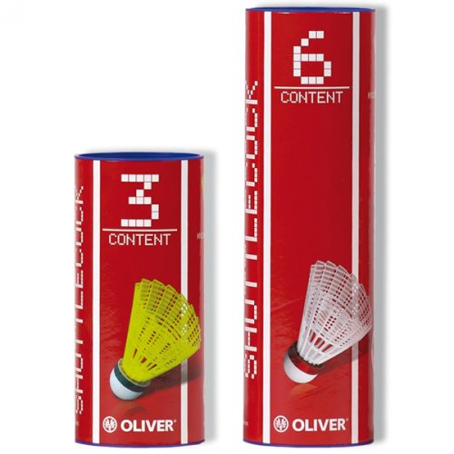 Oliver ProTec 5 - B�lle - 51320 Pro Tec Badmintonb�lle weiss mittel