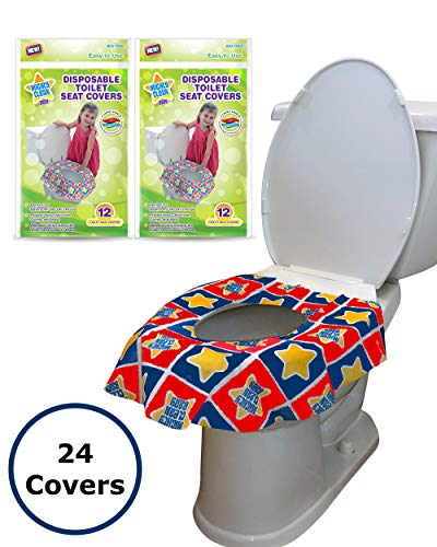 Travel Size Disposable Toilet Seat 10 Covers x 3