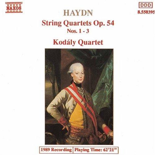 Haydn: String Quartets Op. 54, Nos. 1-3